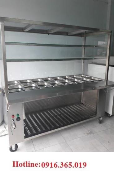 Tủ hâm nóng thức ăn 16 ngăn